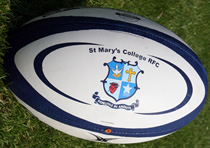 St Marys College RFC Rugby Ball - Click for full version
